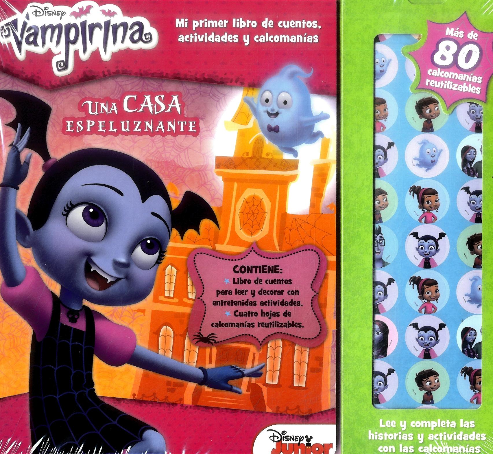 Story Sticker Vampirina - Varios Autores - Plow Srl