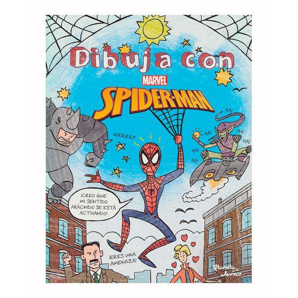 Dibuja con Spider-Man