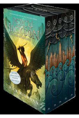 Percy Jackson and the Olympians 5 Book Paperback Boxed set (New Covers w (libro en Inglés) - Rick Riordan - Disney Press