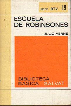 portada escuela de robinsones. pról. ignacio aldecoa.