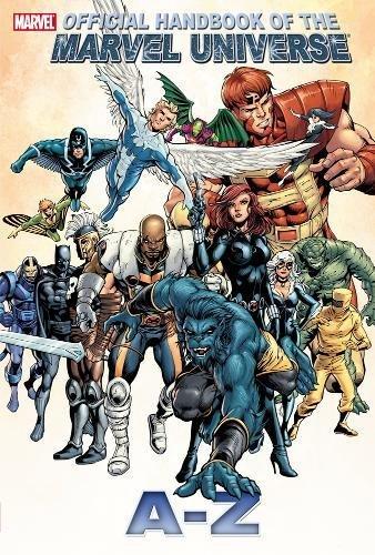 Official Handbook of the Marvel Universe a to z Volume 1 (Official Index to the Marvel Universe a to z) (libro en Inglés) - Marvel Comics - Marvel
