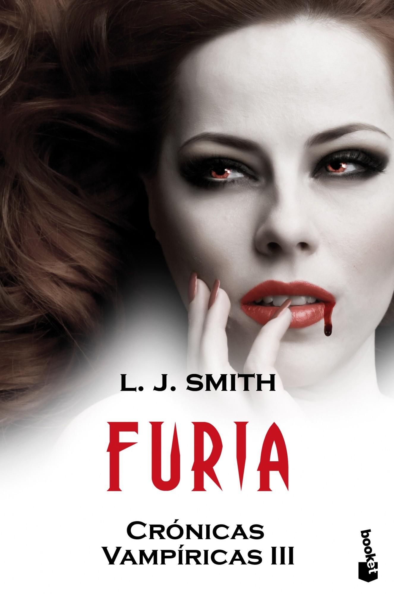 portada Furia: Crónicas Vampíricas iii (Booket Logista)