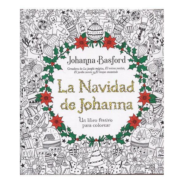 La Navidad de Johanna - Johanna Basford - Terapias Verdes