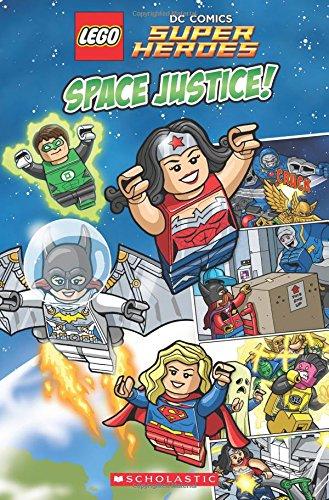 Space Justice! (Lego dc Comics Super Heroes) (libro en inglés) - Trey King - Scholastic