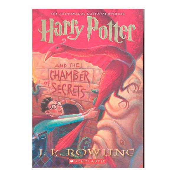 Harry Potter and the Chamber of Secrets (libro en Inglés) - J. K. Rowling - Scholastic Paperbacks