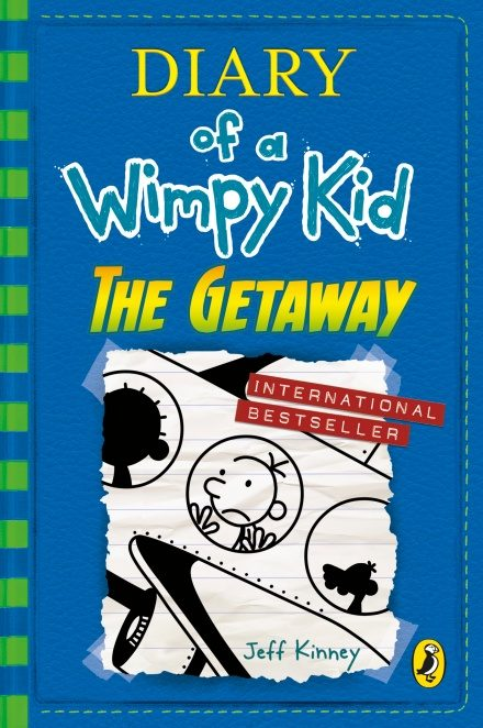 portada Diary of a Wimpy Kid: The Getaway (Book 12) (libro en inglés)