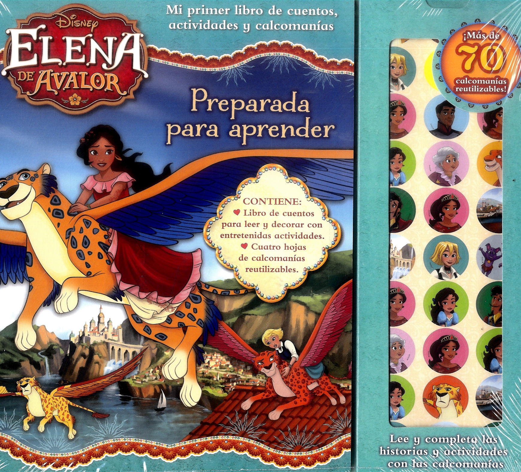Story Sticker Elena - Varios Autores - Plow Srl