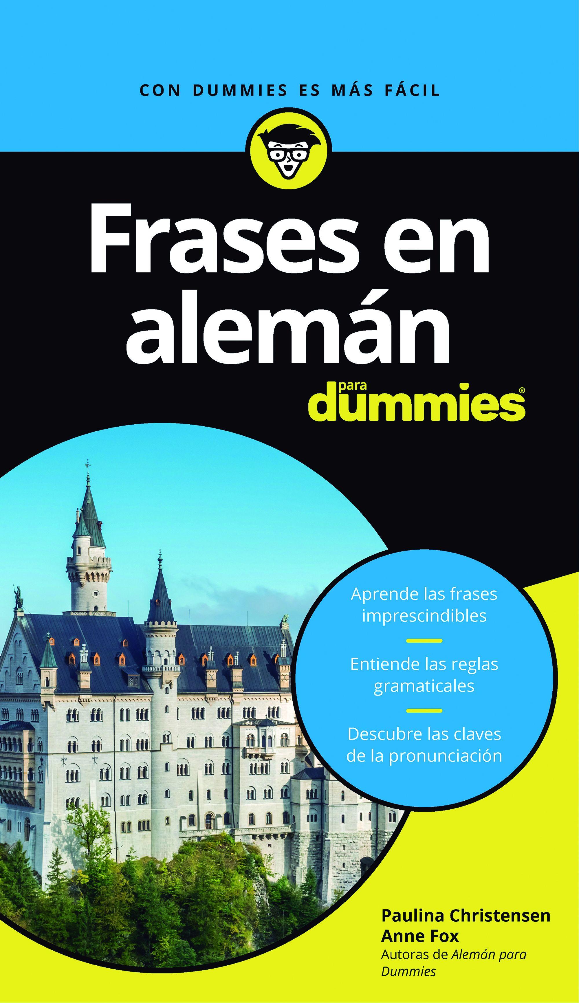Frases en Alemán Para Dummies - Paulina Christensen,Anne Fox - Para Dummies Colombia